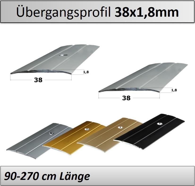 Ausgleichsprofil Abschlussprofil Übergangsprofil 2-16mm Anpassungsprofil