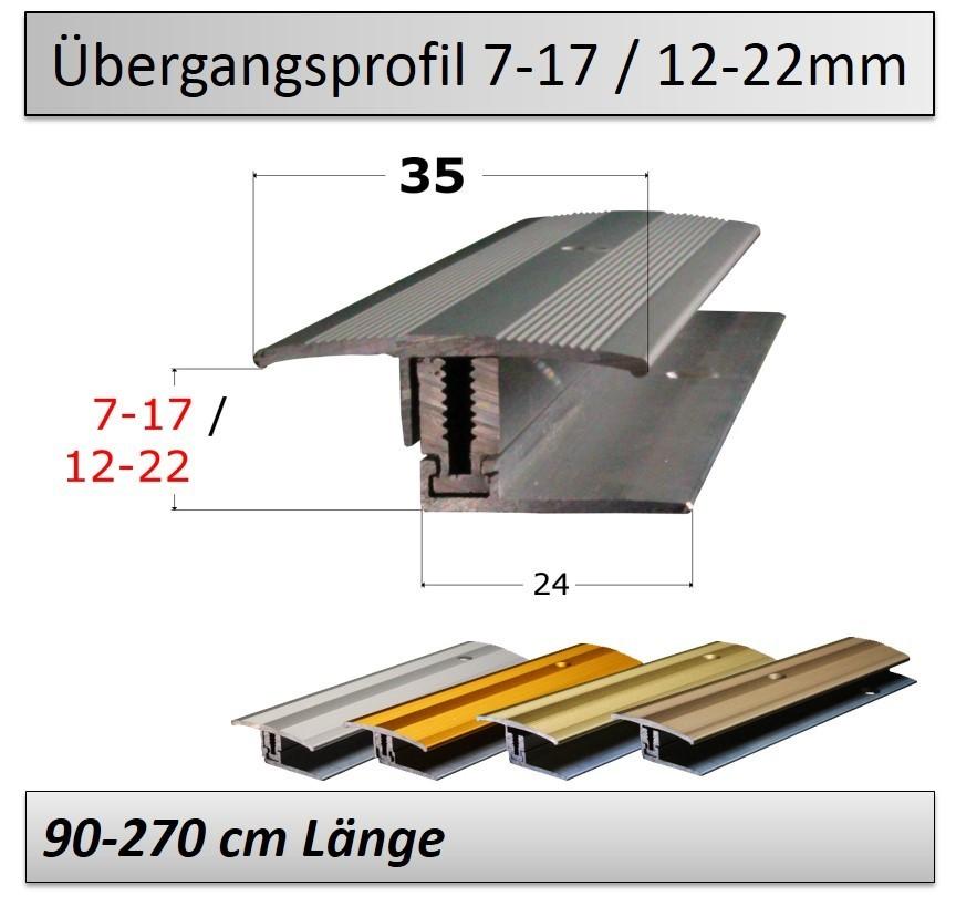 7 17mm 12 22mm Ubergangsprofil Flexibel Top Preis Qualitat