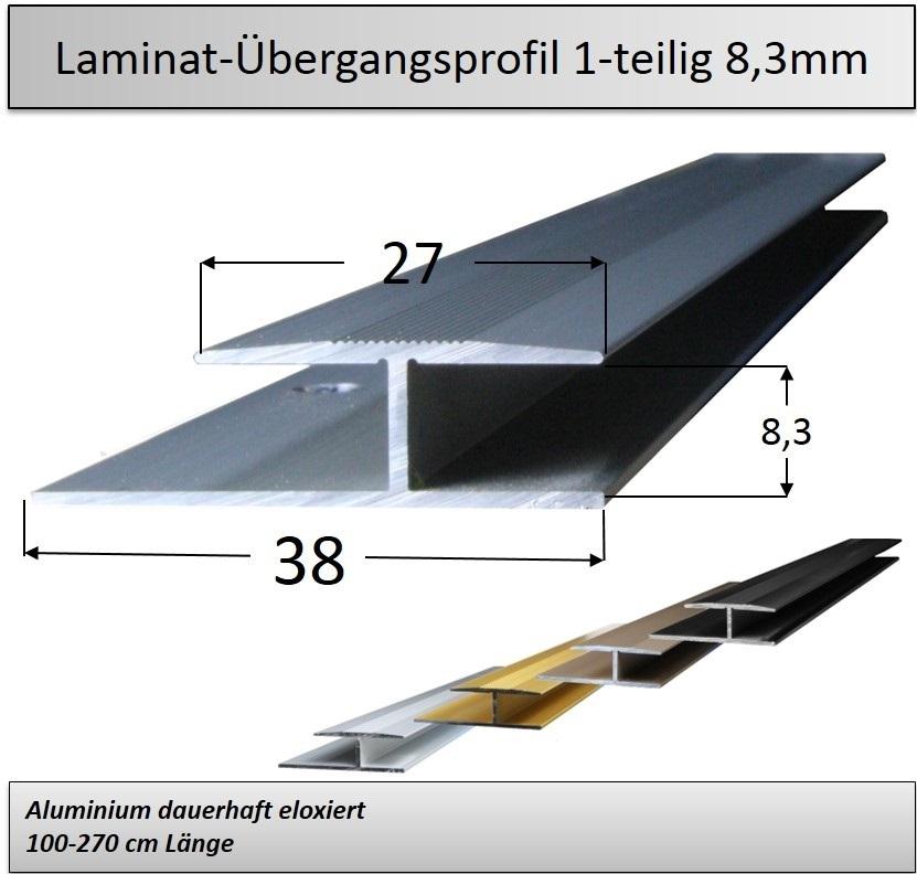 8mm Einschubprofil Ubergangsprofile 150 000 Metallprofile