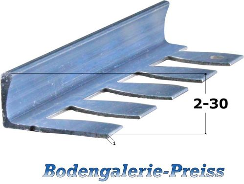 2-30mm Fliesenprofile -Flexibel